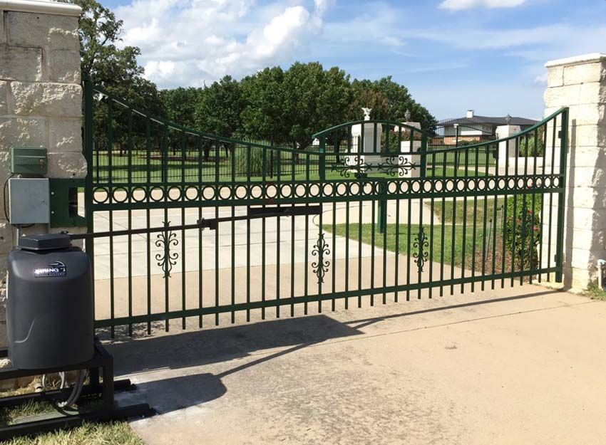 Doors in Motion provides high quality gate access and security entrance services for Dallas-Fort Worth residents. Regardless of your gate needs ... & Fort Worth Residential Iron Gate Repair/Installation Services ...