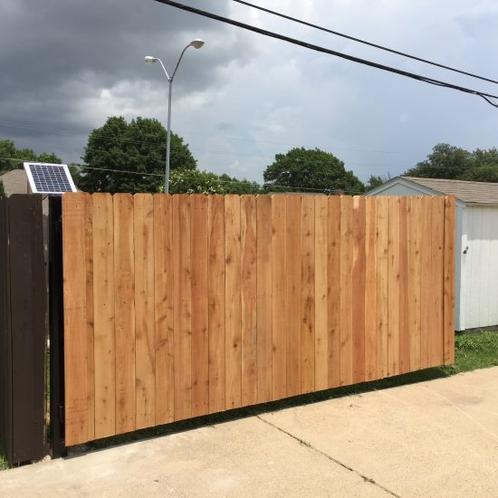 Custom Wood Fences